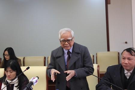 TS Nguyễn Văn Hòa - Chủ tịch HĐQT trường THCS&THPT Nguyễn Bỉnh Khiêm (Hà Nội).