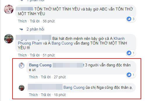 Bằng Cường bất ngờ cho biết cả anh, Khánh Phương và Quỳnh Nga vẫn đang độc thân.