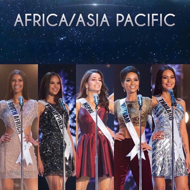 Và lọt Top 5 thí sinh đẹp nhất khu vực Châu Á Thái Bình Dương