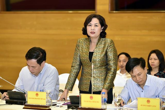 Theo bà Nguyễn Thị Hồng - Phó Thống đốc NHNN, sắp tới sẽ kiến nghị để có giải pháp quản lý hoạt động tín dụng. Ảnh: TL