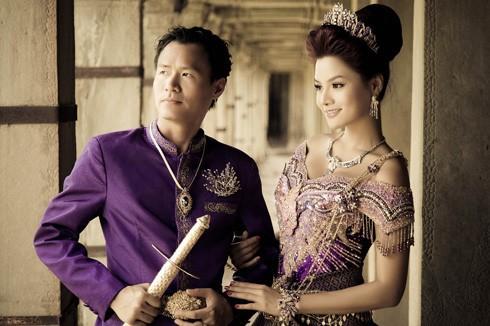 Ông xã Vũ Thu Phương thuộc dòng dõi hoàng tộc Campuchia