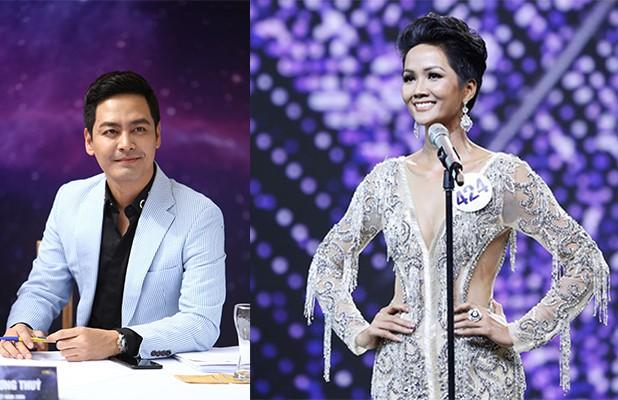 MC Phan Anh từng chấm thi Hoa hậu hoàn vũ Việt Nam 2017 - nơi HHen Niê đăng quang