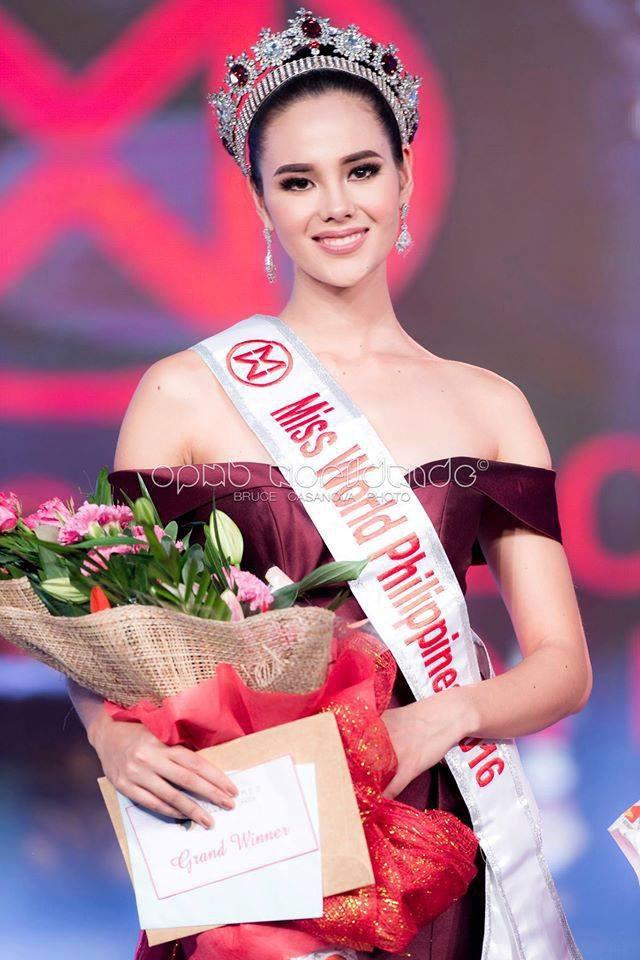 Catriona Gray đăng quang ngôi vị Hoa hậu Thế giới Philippines 2016