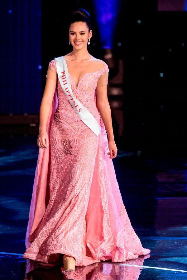 Người đẹp lọt vào top 5 trong cuộc thi Miss World ( Hoa hậu Thế giới).