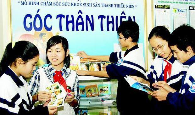 Vấn đề chăm sóc sức khỏe sinh sản vị thành niên, thanh niên được Bộ Y tế xác định là một ưu tiên hàng đầu trong chiến lược Dân số và Sức khỏe Sinh sản Việt Nam 2011-2020. Ảnh minh họa