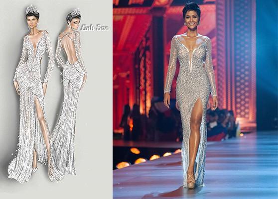 """Đầm dạ hội mang tên """"Diamond Shine"""" dành riêng cho HHen Niê"""