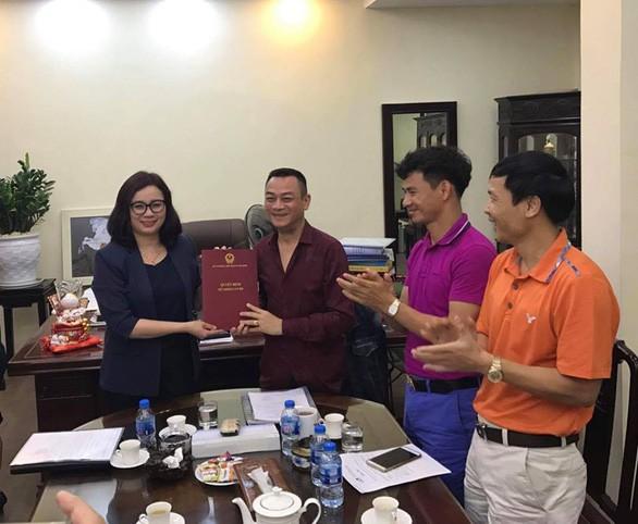 Nghệ sĩ nhân dân Anh Tú được trao quyết định bổ nhiệm quyền giám đốc Nhà hát Kịch Việt Nam