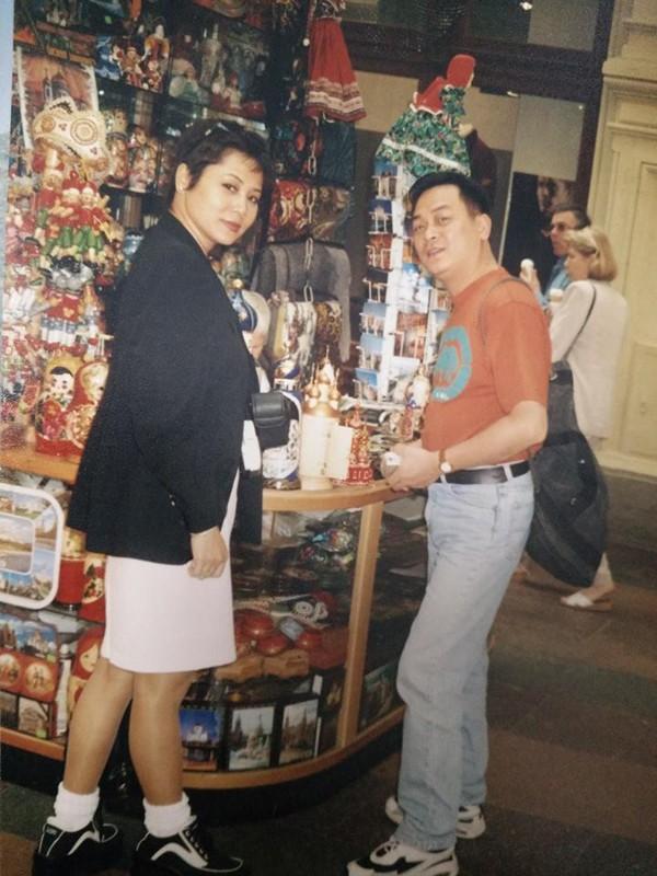 NSND Anh Tú và nghệ sĩ Minh Hằng khi còn trẻ.