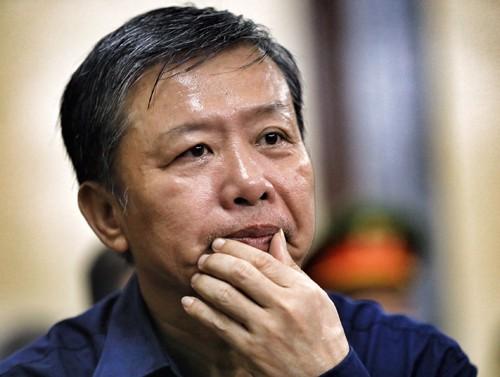 Cựu trung tá cảnh sát kinh tế Nguyễn Hồng Ánh. Ảnh: Hữu Khoa.