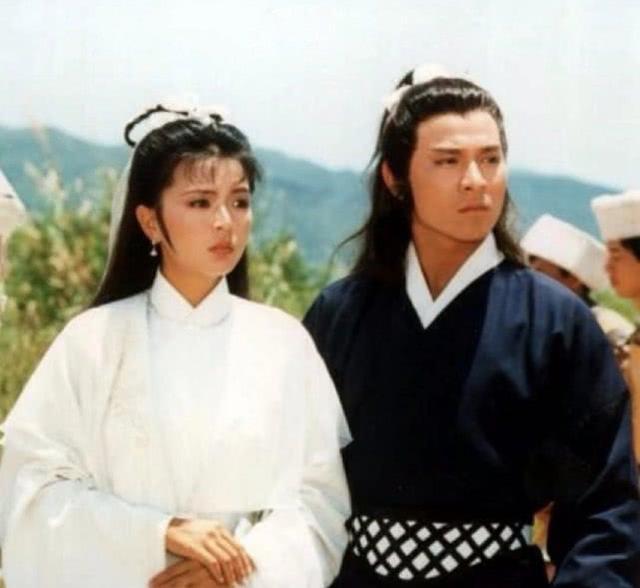 Lưu Đức Hoa và Trần Ngọc Liên trong Thần điêu đại hiệp (1983).