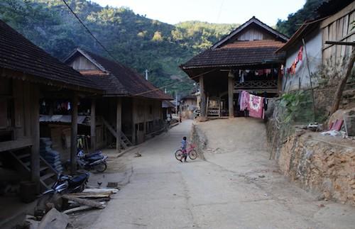 Xã Hữu Kiệm (huyện Kỳ Sơn) nằm ở miền Tây Nghệ An, giáp biên giới với Lào. Ảnh: Nguyễn Hải.