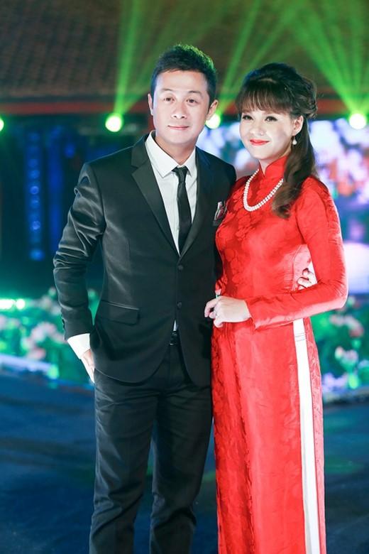 Diễm Quỳnh và Anh Tuấn thường được mặc định là một cặp bởi sự ăn ý và xứng đôi