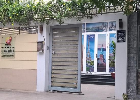 Trụ sở công ty Thương mại Du lịch kỳ nghỉ quốc tể tại TP Hồ Chí Minh.