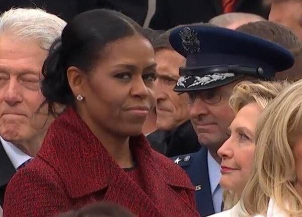 Bà Obama.