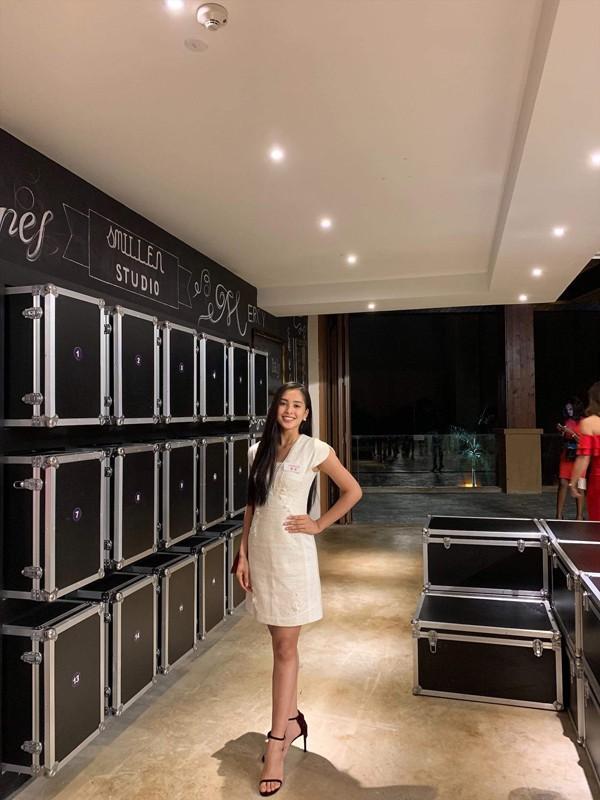 Hoa hậu Tiểu Vy tự tin tại Miss World 2018.