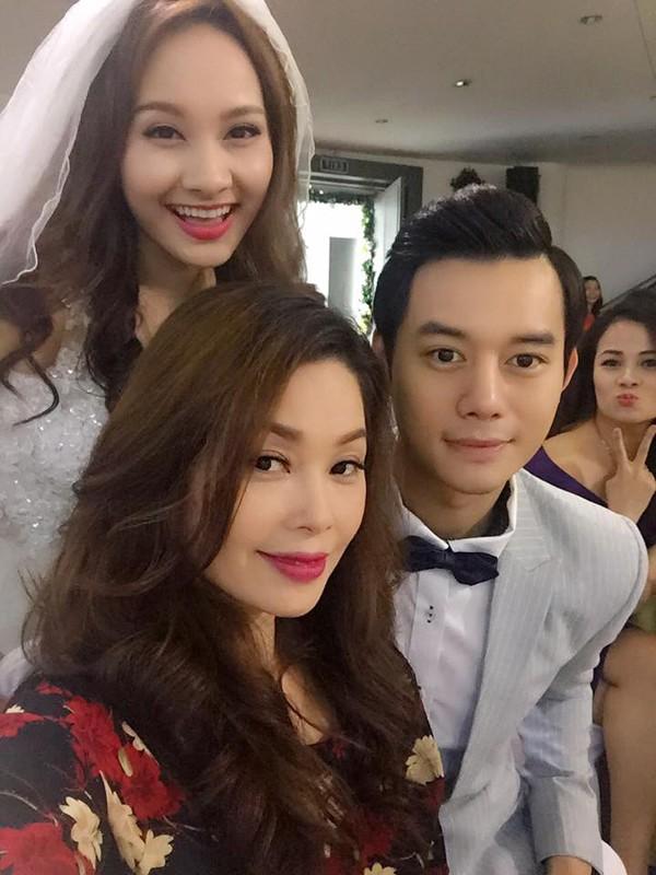 Thanh Tú từng đóng vai dì diễn viên Bảo Thanh phim Sống chung với mẹ chồng.
