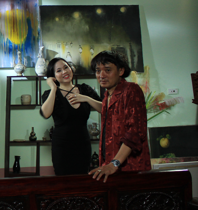 Trương Phương từng đóng cặp với danh hài Chiến Thắng trong một phim Tết