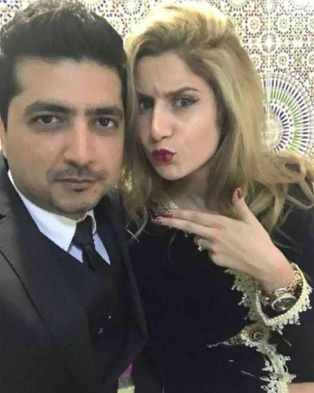 Cặp vợ chồng Faisal và Asmae.