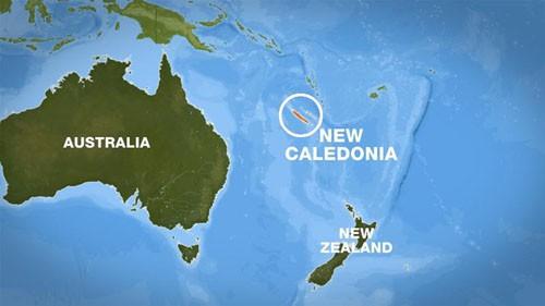 Tâm chấn của trận động đất nằm trên quần đảo Loyalty. Ảnh: Guardian.