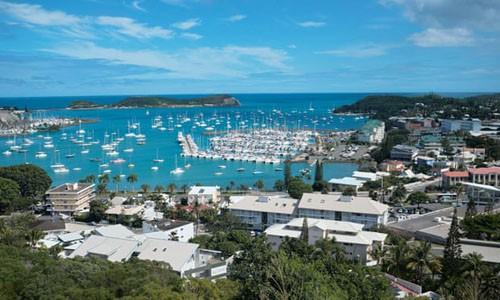 Đảo New Caledonia, lãnh thổ hải ngoại của Pháp ở Thái Bình Dương. Ảnh: AP.