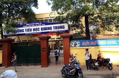 Trường Tiểu học Quang Trung, quận Đống Đa, Hà Nội. Ảnh: Q.A