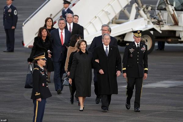 Gia đình cựu Tổng thống Bush.