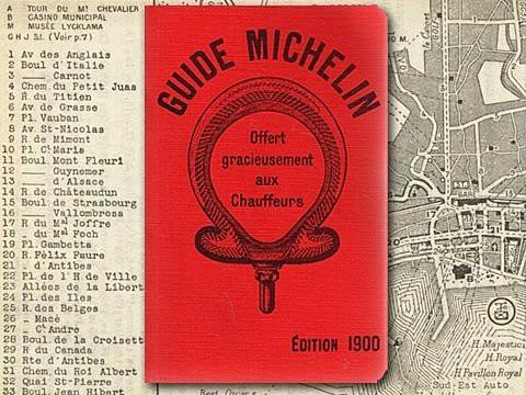 Ấn phẩm Michelin Guide đầu tiên
