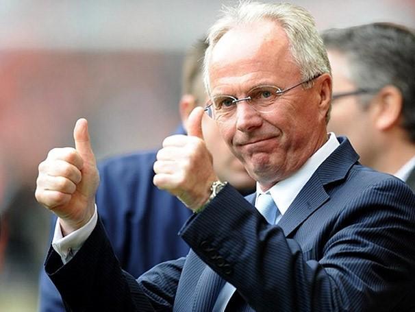 Khi còn dẫn dắt các đội bóng, HLV Eriksson từng không ít lần lội ngược dòng thành công sau khi thua trận lượt đi. Ảnh: Getty Images.