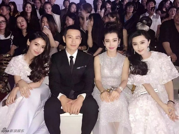 Vợ chồng Angelababy và Huỳnh Hiểu Minh cũng bị lọt vào danh sách nghệ sĩ rắc rối về thuế.