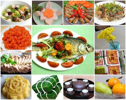 Những món ăn không thể thiếu trong mâm cỗ ông Công ông Táo