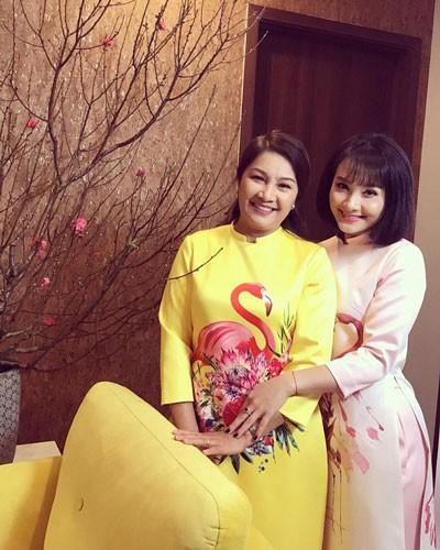Bảo Thanh và mẹ trong những ngày chuẩn bị đón Tết 2018.