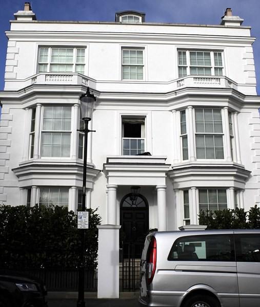 Căn nhà 2 vợ chồng tỉ phú từng sinh sống.