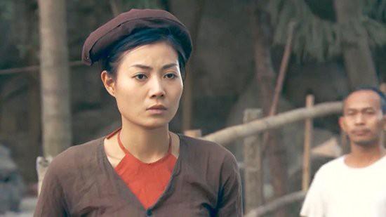 Tạo hình của Thanh Hương trong phim Thương nhớ ở ai.
