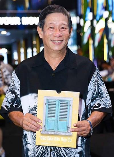 Nguyễn Hậu dự ra mắt phim Đảo của dân ngụ cư năm 2017.