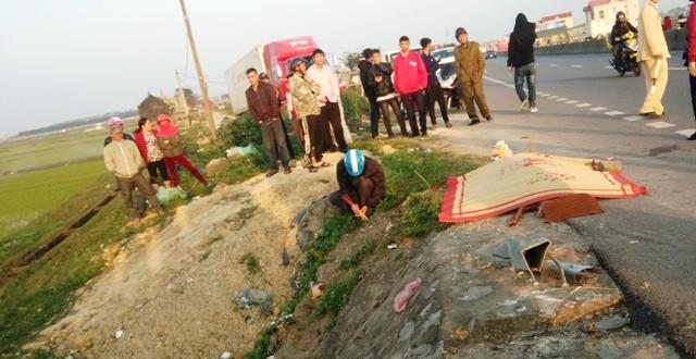 Vụ tai nạn làm 2 người chết, 4 người bị thương