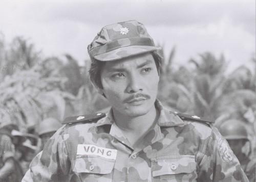 """Hình ảnh Thương Tín trong bộ phim """"Biệt động Sài Gòn""""."""