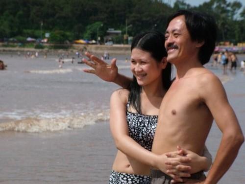 Giang còi và người vợ 2 khi còn hạnh phúc bên nhau