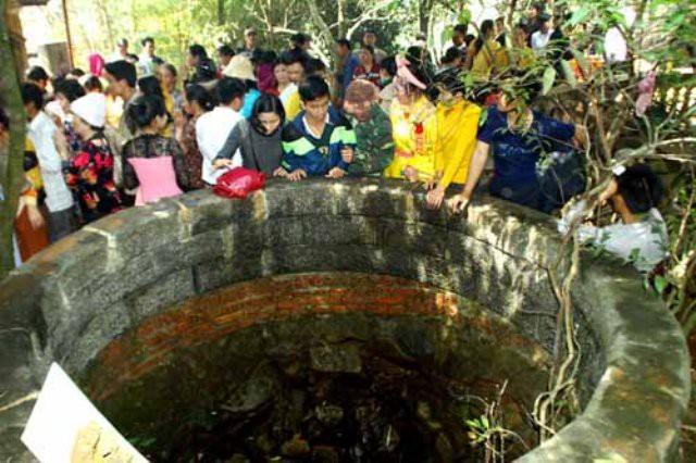 Giếng Tiên, một trong những địa danh viếng thăm mỗi khi du khách về Am Tiên