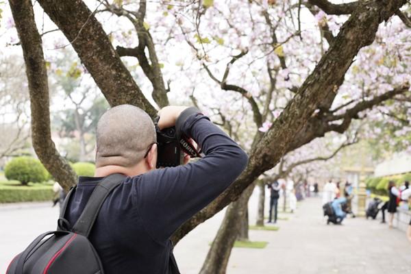 Rất đông nhiếp ảnh gia tới đây để sáng tác.