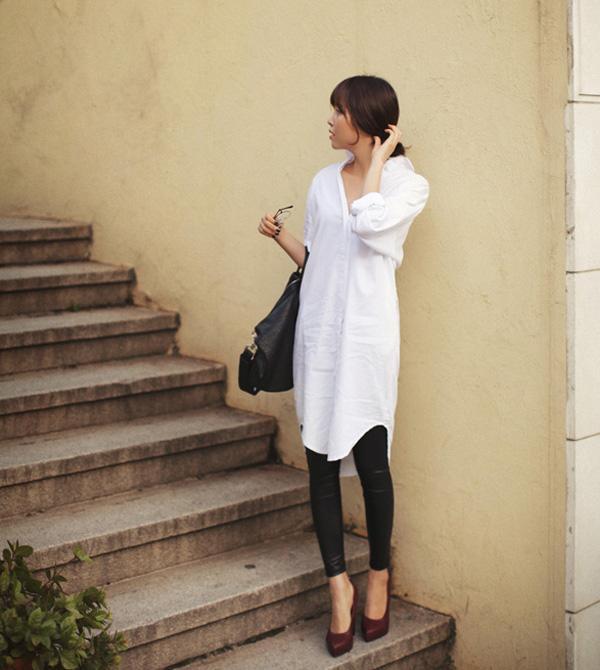 10 cách phối đồ cùng legging đen giúp chị em tự tin xuống phố chơi Tết