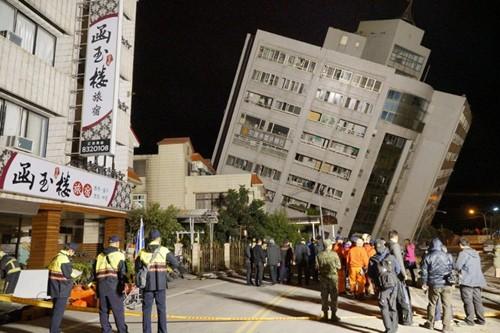 Không có người Việt bị ảnh hưởng trong động đất ở Đài Loan