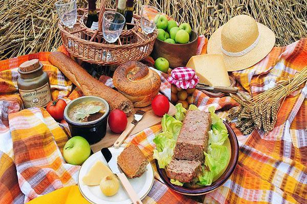 """Trong những buổi dã ngoại, picnic, chắc chắn các món ăn ngon, hấp dẫn của bạn sẽ không tránh khỏi tình trạng bị kiến nhòm ngó. Để đuổi những """"vị khách"""" không mời mà tới này, bạn chỉ cần rắc một ít bột phấn rôm xung quanh thảm trải là kiến sẽ sợ không dám tới."""