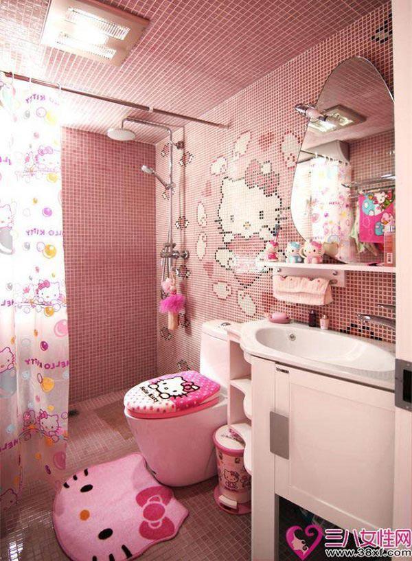 Ngạc nhiên và đặc biệt hơn cả phải kể đến nhà vệ sinh của căn nhà.