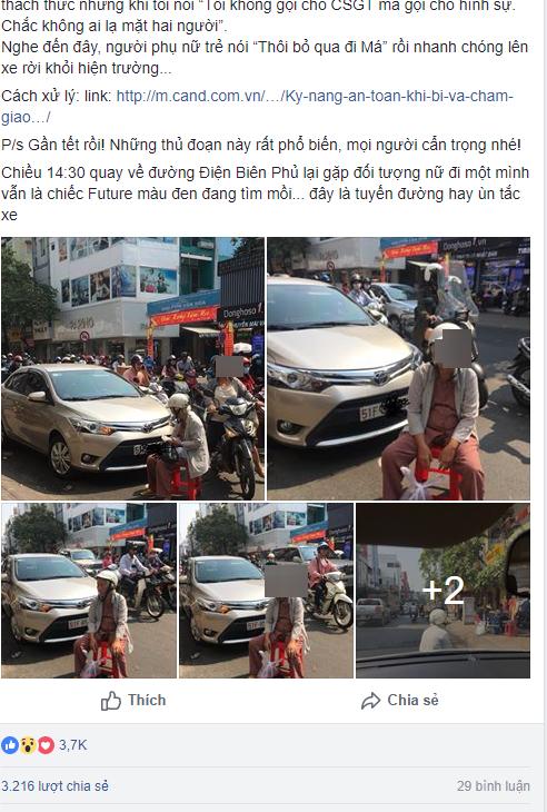 Dàn cảnh va quệt hai mẹ con bà lão chặn xe ô tô bắt vạ tài xế