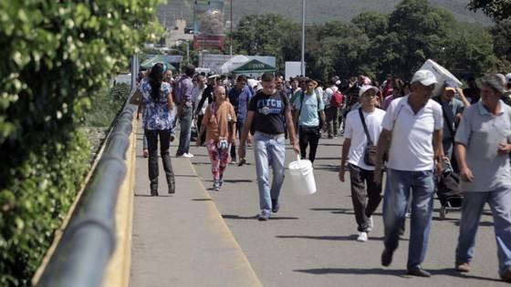 Hiện nay, có tới 600.000 người Venezuela đang sinh sống tại Colombia. (Nguồn: Miami Herald)