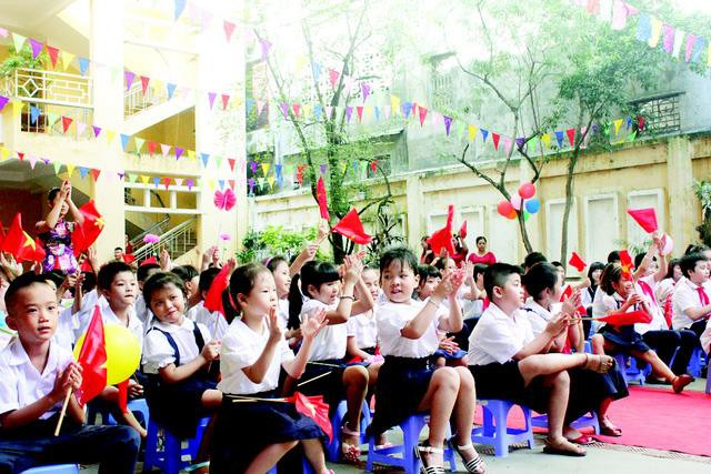 Tết Mậu Tuất học sinh Hà Nội sẽ được nghỉ 11 ngày. Ảnh: Q.Anh