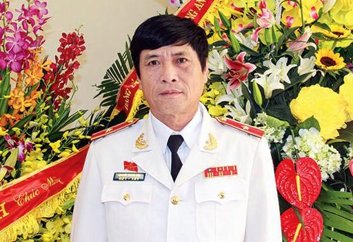 Bị can Nguyễn Thanh Hóa - nguyên Cục trưởng cảnh sát phòng chống tội phạm công nghệ cao