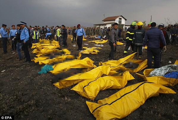 Những nạn nhân đã tử vong trong vụ nổ máy bay.