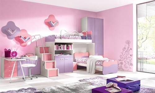 Các bé gái sẽ yêu thích căn phòng màu hồng nhưng nhanh chóng chán khi trưởng thành hơn. Ảnh minh họa: IID.