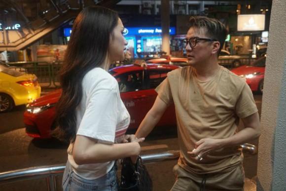 Đàm Vĩnh Hưng và Hương Giang có cuộc gặp tình cảm tại Thái Lan.